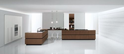 Italian Cube Modern Kitchen by Bravo