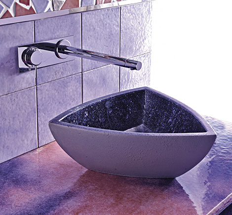 Marvelous Purple Bathrooms By Franco Pecchioli Ceramica Awesome Design