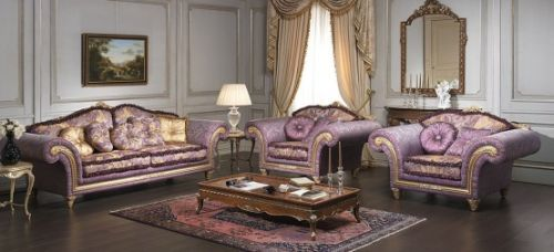 Imperial Sofa and Armchairs by Vimercati Media