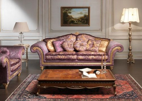 Imperial Sofa and Armchairs by Vimercati Media1