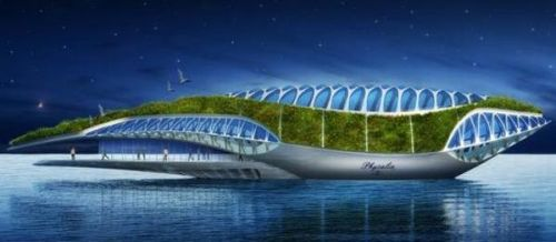 Physalia A Huge Floating Garden By Vincent Callebaut