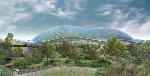 Heart Of Africa Biodome At Chester Zoo - Heart-of-africa-biodome-at-chester-zoo