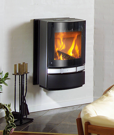Contemporary Wood Stoves Designed By Jacob Jensen