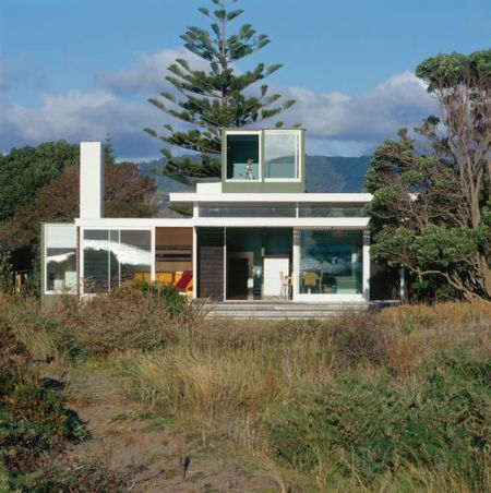 Spend Hot Summers And Views In A Beach House Designed By Parsonson  Architects