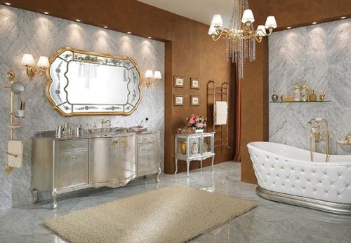 Awesome Lineatre Bathroom Silver 6 Home Design Ideas