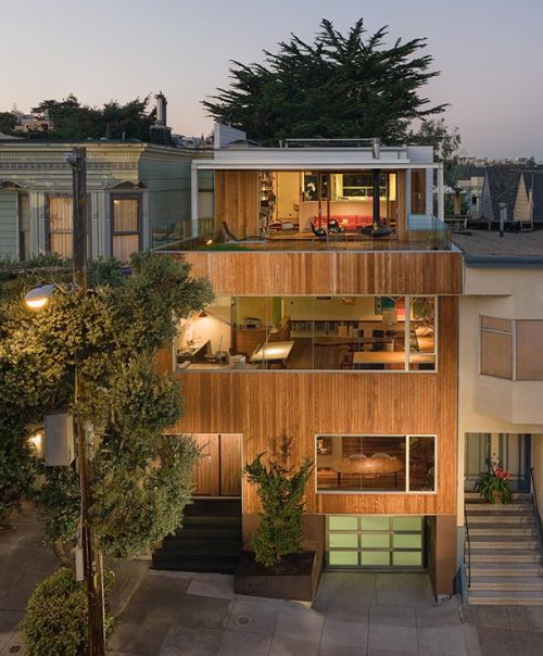 Beaver Street Reprise In San Francisco Is A Great Livework House Plan
