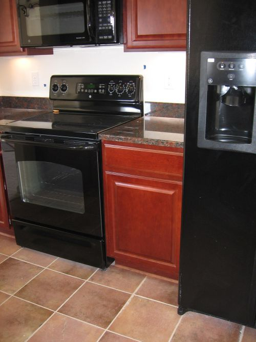 kitchen design pictures black appliances how to decorate a kitchen with black appliances 488