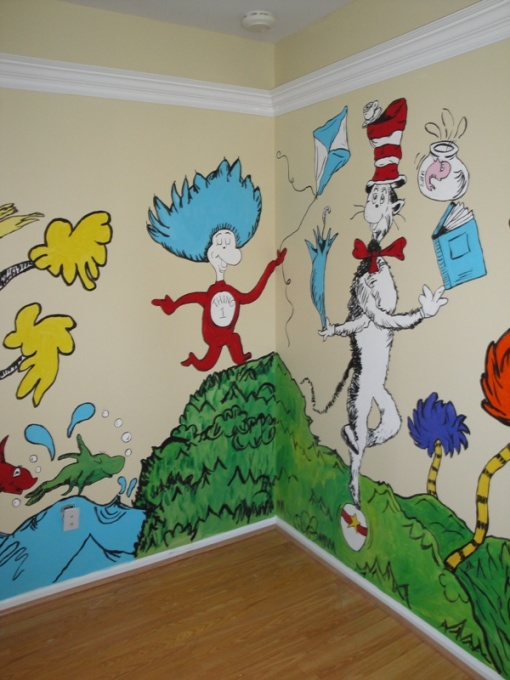 Attractive Dr. Seuss Nursery Theme Ideas Part 17