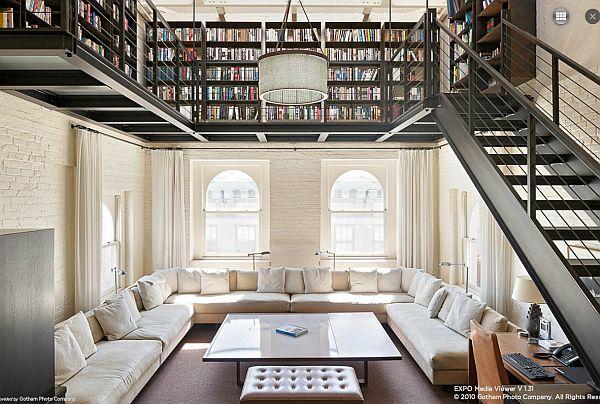 Good Striking Duplex House In Tribeca, New York