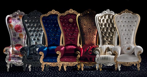 Gorgeous Luxury Regal Armchair Design By Caspani