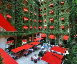 Hôtel Plaza Athénée Paris – a sumptuous and very charming escape