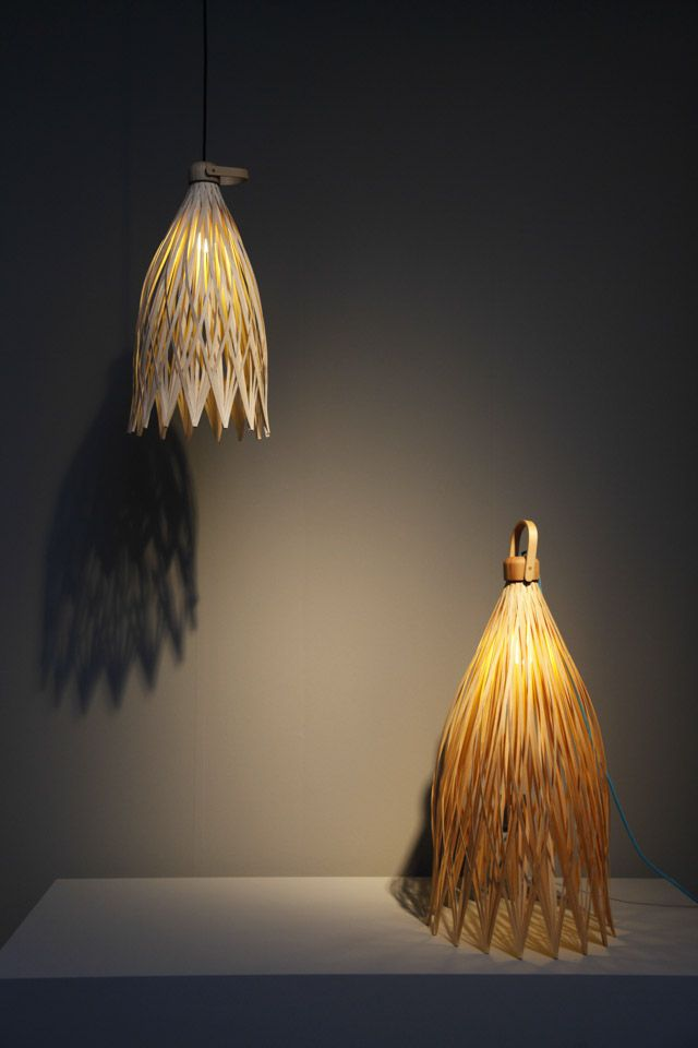 Juan Cappa's lamps