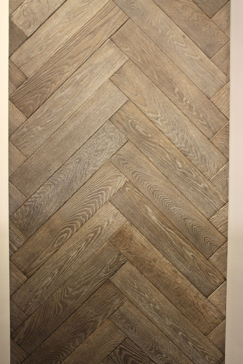 This herringbone design in a lighter wood is one of Northern Plank's best selling floors.
