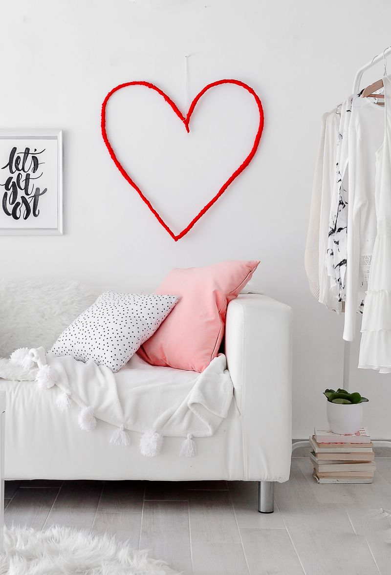 Heart Wall Art For Valentines Day