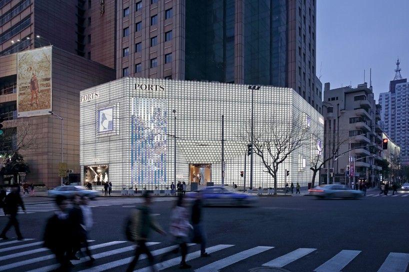 uufie develops 3D glass façade