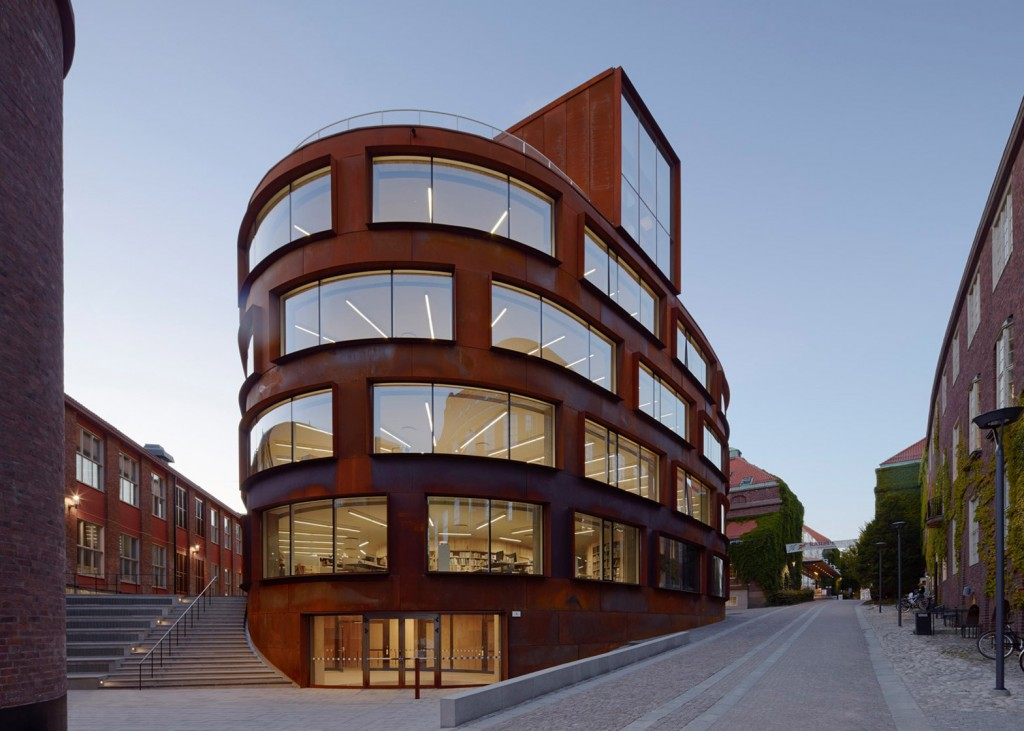 Stockholm's Royal Institute of Technology Corten Steel