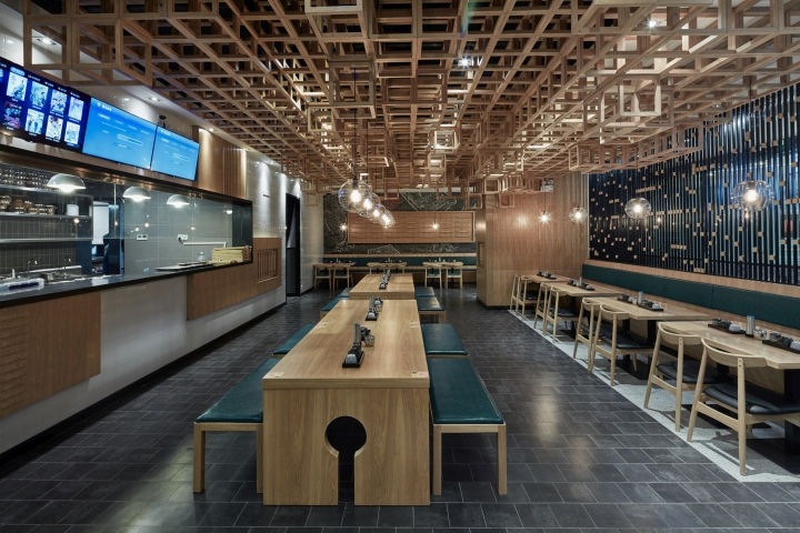Dacong's Noodle House by Swimming Pool Studio Decor