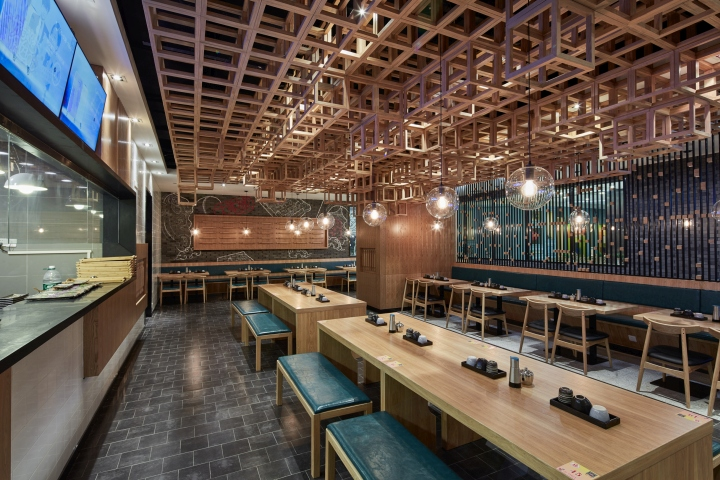 Dacong's Noodle House by Swimming Pool Studio interior