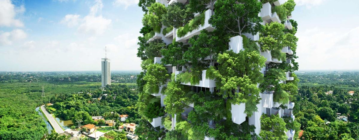 Design world's tallest residential vertical garden