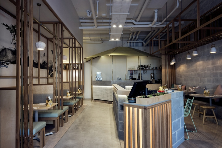 So 9 Restaurant by BrandWorks, Sydney – Australia Decor