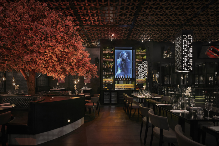 Tattu by Edwin Pickett – best standalone restaurant Decor
