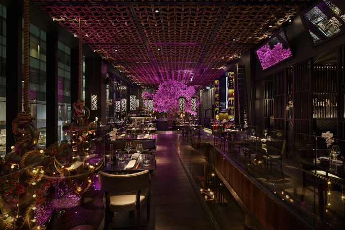 Tattu by Edwin Pickett – best standalone restaurant Interior Design