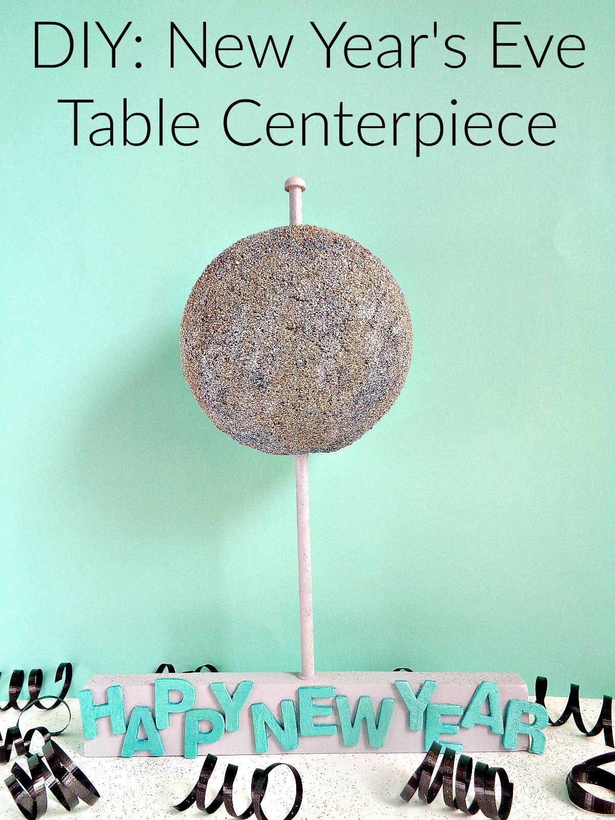 New Year's Eve Table Centerpiece