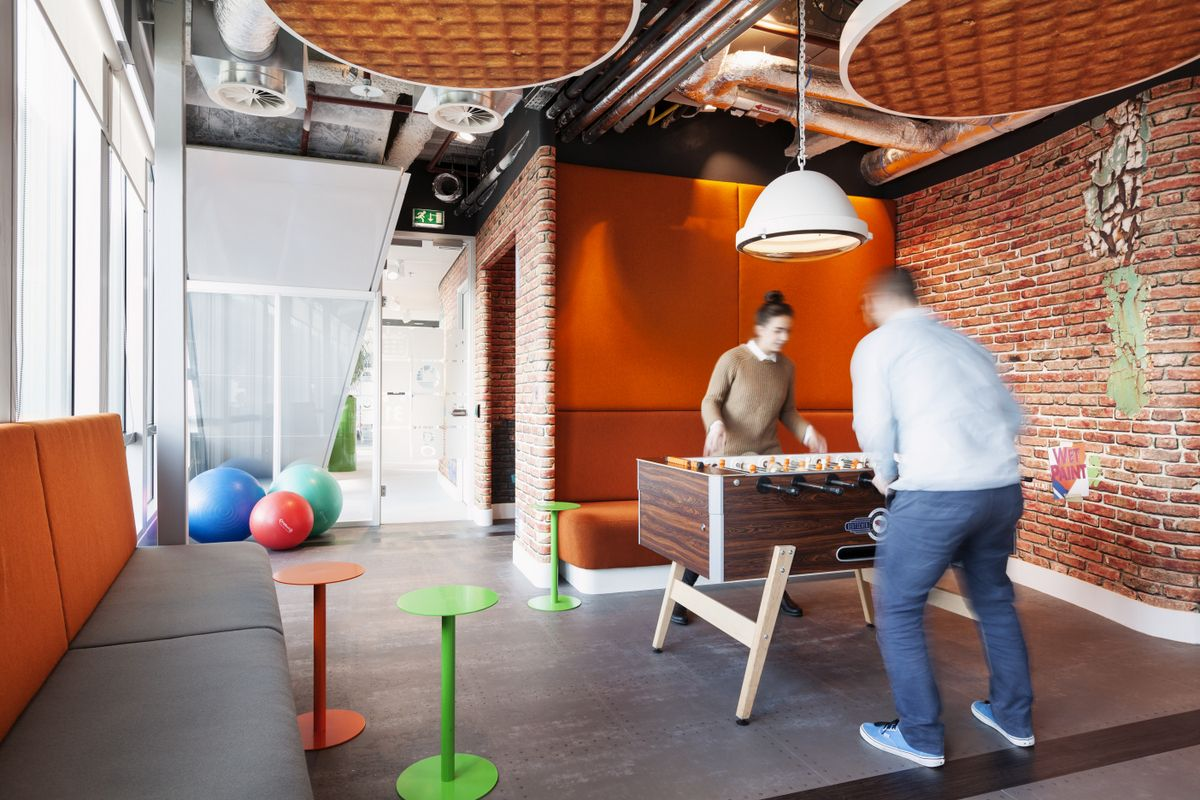 Fantastic Cool Office Break Rooms The Playgrounds Of The Adults Interior Design Ideas Gentotryabchikinfo