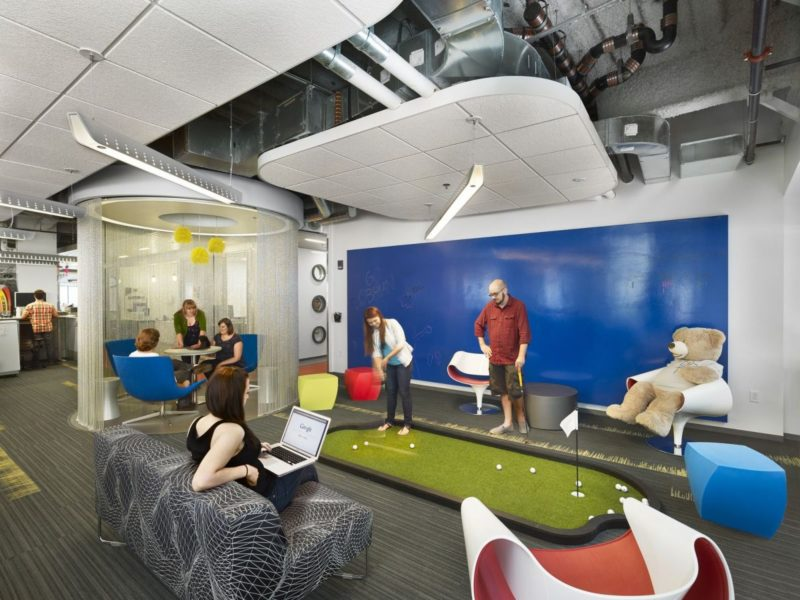 Cool Office Break Rooms – The Playgrounds Of The Adults