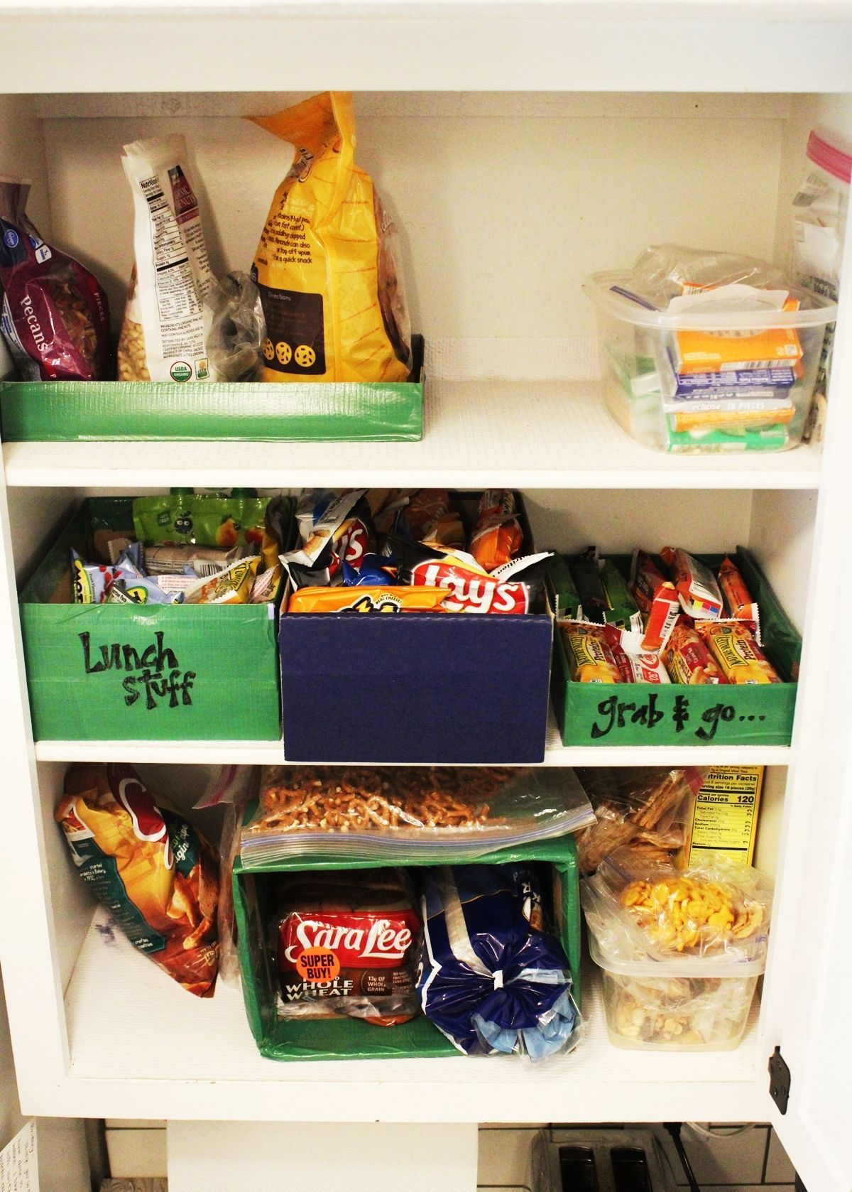 Fill and Organize Your Kitchen Cupboard