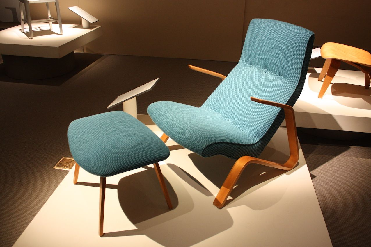 Iconic chairs like this Saarinen piece are synonymous with the Cranbrook Academy.