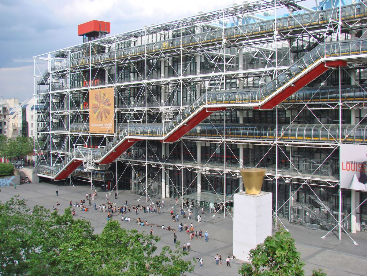 Centre Georges Pompidou — Paris, France