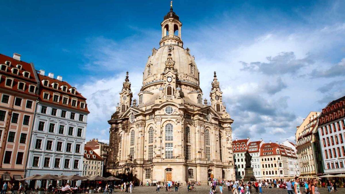 Dresden Frauenkirche — Dresden, Germany
