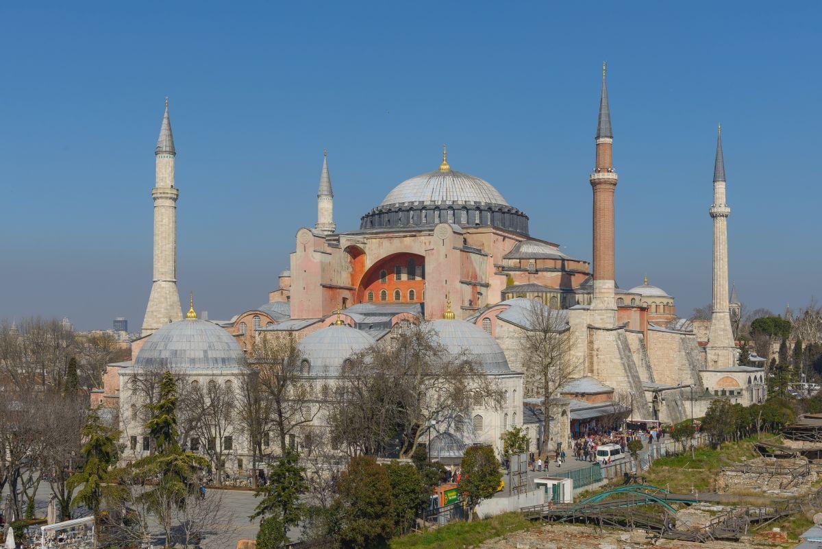 Hagia Sophia — Istanbul, Turkey