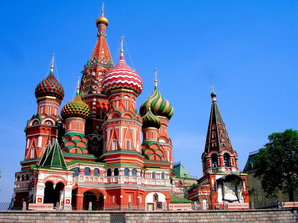 St. Basil's Cathedral — Moscow, Russia