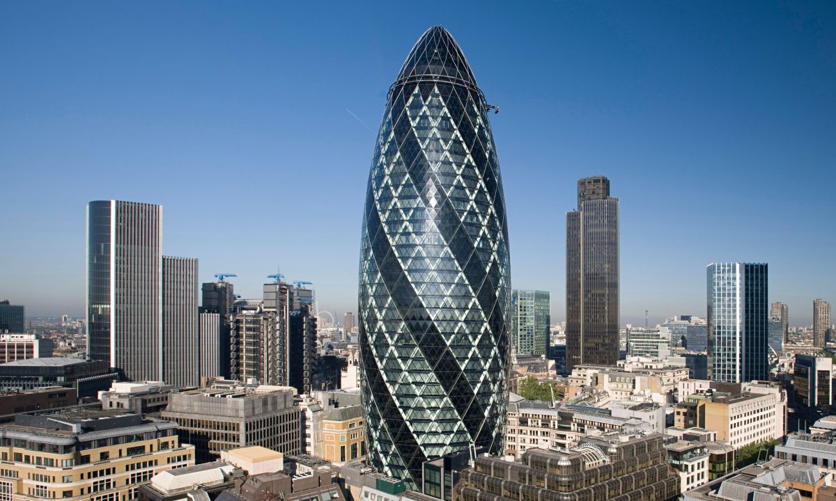 The Gherkin — London, UK