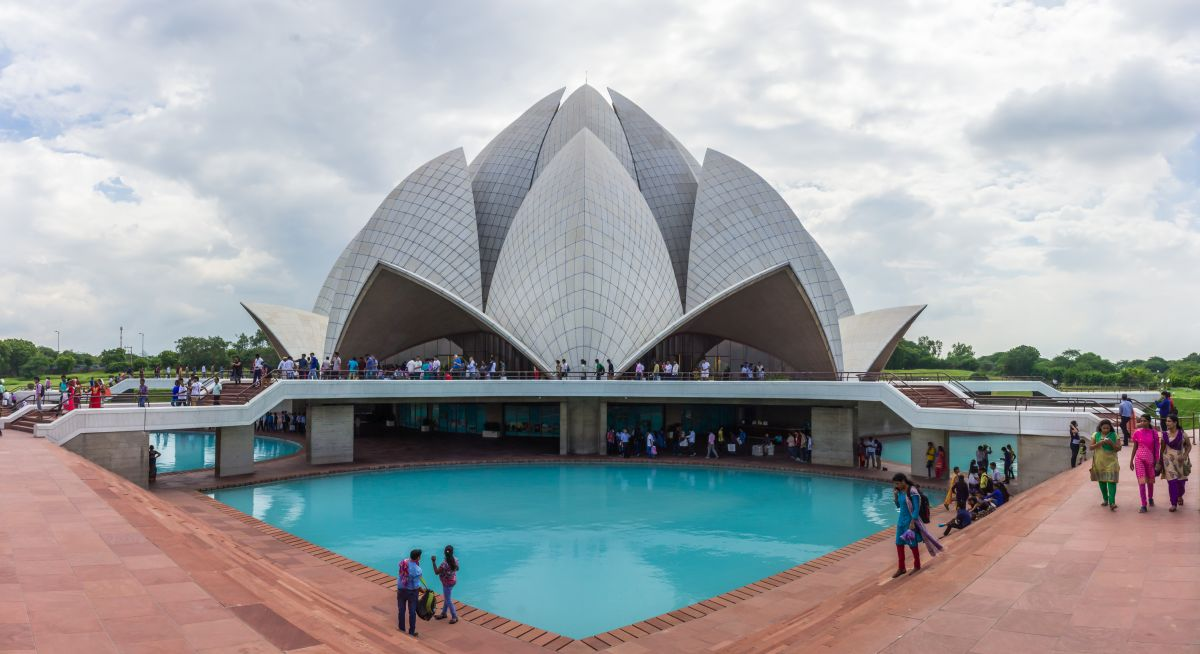 The Lotus Temple — New Delhi, India