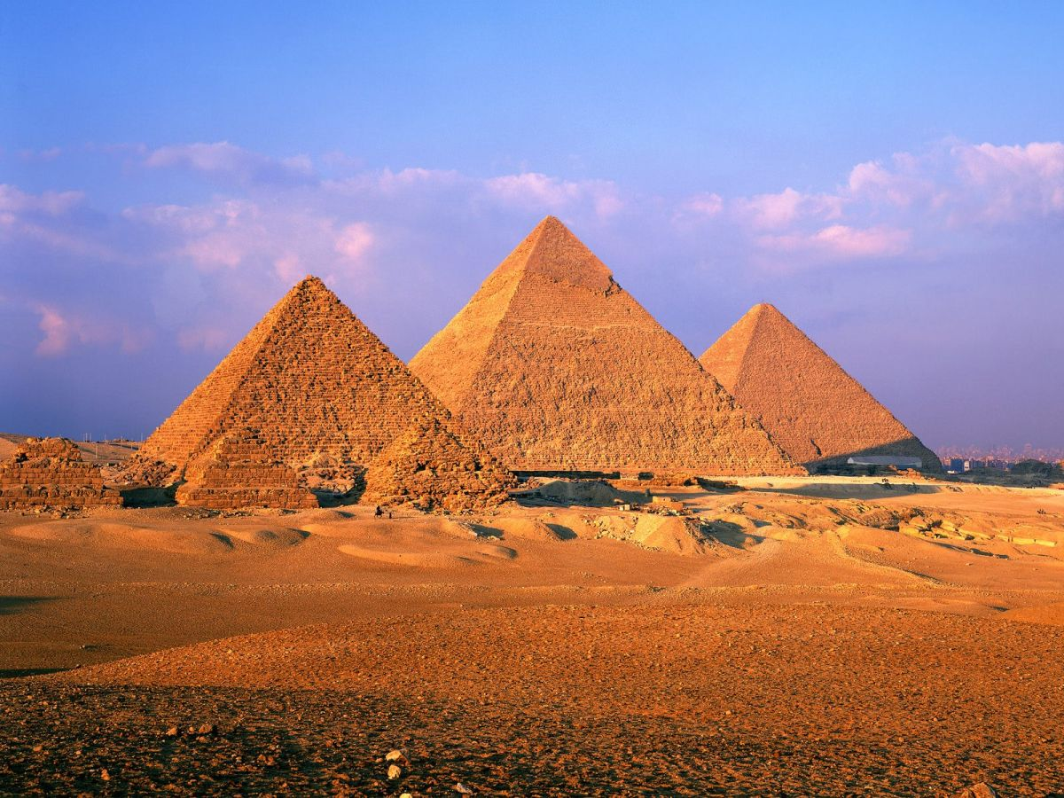 The Pyramids of Giza — Giza, Egypt