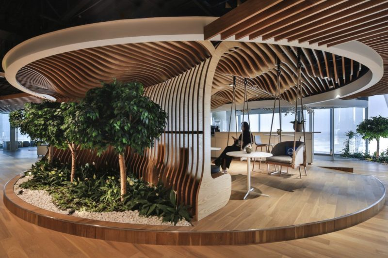 Spectacular Dubai Office Inspired By The Beautiful Sandy Dunes