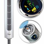 "Ozeri Ultra 42"" Wind Adjustable Oscillating Noise Reduction Technology Tower Fan"