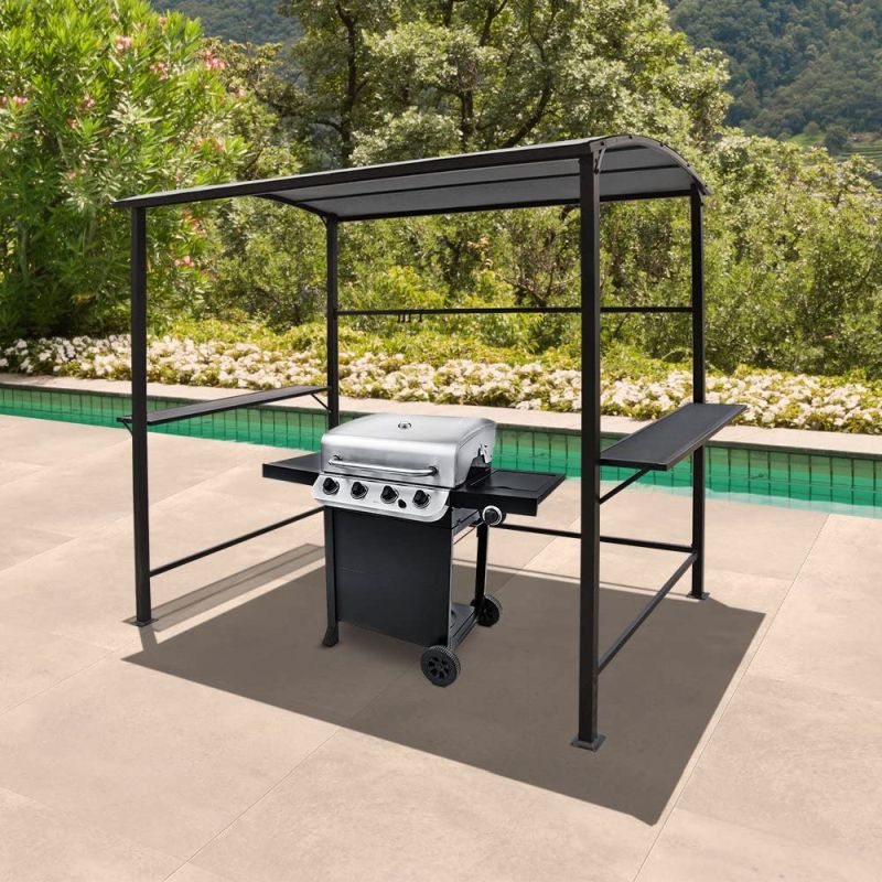 6 Best Bbq Shelter And Gazebos For Grilling In Any Weather Conditions