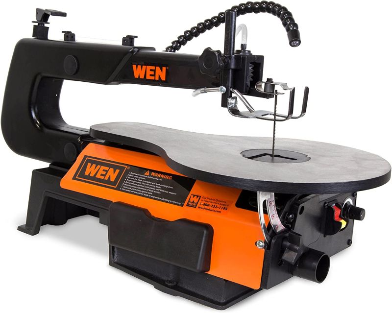 WEN 3921 – 120 Volt, 16-Inch, Two-Direction Variable Speed Scroll Saw